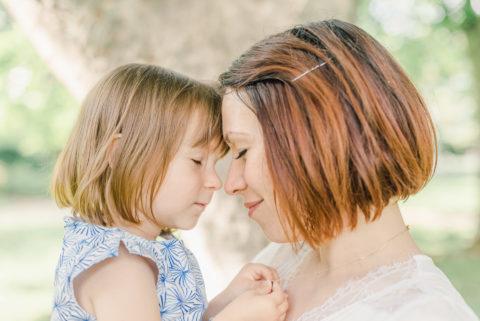 tête à tête mère et fille